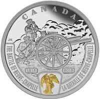 Kanada : 20 Dollar Schlacht von Neuve-Chapelle - 1. Weltkrieg - teilvergoldet  2015 PP