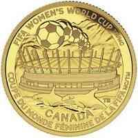"""Kanada : 75 Dollar FIFA Frauenfußball-WM """"Die Meisterschaft""""  2015 PP"""