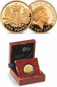 Großbritannien : 1 Pfund Königliches Wappen  2015 PP