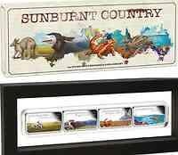 Australien : 4 Dollar 4x1 $ 2015 Sunburnt Country - Set  2015 PP