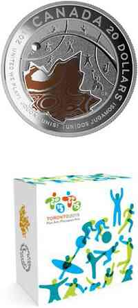 "Kanada : 20 Dollar Pan Am/Parapan Am Games ""United We Play!"" - farbig  2015 PP"