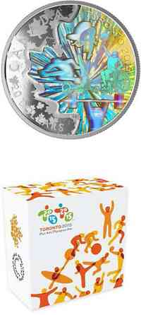 "Kanada : 20 Dollar Pan Am/Parapan Am Games ""In the Spirit of Sports!"" - Hologram  2015 PP"