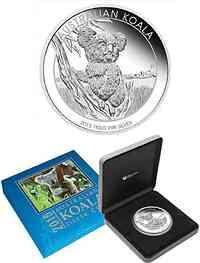Australien : 30 Dollar Koala 1 kg  2015 PP