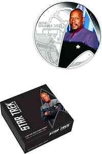 Tuvalu : 1 Dollar Star Trek - Captain Benjamnin Sisko  2015 PP