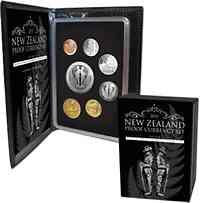 "Neuseeland : 4,80 Dollar Kursmünzensatz ""Spirit of ANZAC"" - Si/CN PP  2015 PP"
