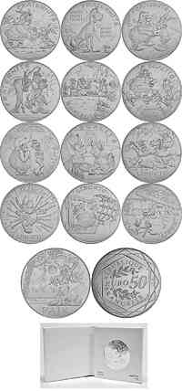 Frankreich : 170 Euro 12x10 Euro +1x50 Euro Asterix Teil 2/2  2015 bfr
