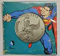 Kanada : 20 Dollar Superman - 20 Dollar für 20 Dollar Serie  2015 Stgl.