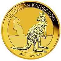 Australien : 50 Dollar Nugget - Känguruh - Tagespreis  2016 Stgl.