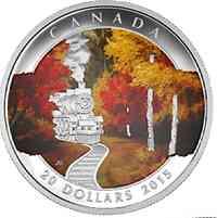 Kanada : 20 Dollar Herbstimpressionen - Herbstexpress  2015 PP