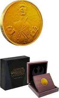 Niue : 25 Dollar Star Wars - Han Solo  2016 PP