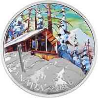 Kanada : 20 Dollar Canadian Landscapes - Berghütte  2016 PP