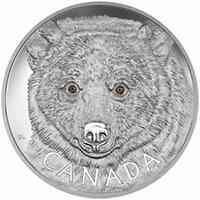 Kanada : 250 Dollar In den Augen des Geisterbären  2016 PP