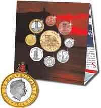 Isle of Man : 8,88 Crown Kursmünzensatz  2016 Stgl.