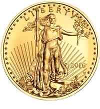 USA : 25 Dollar Eagle  2016 Stgl.