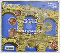 Spanien : 5,88 Euro KMS World Money Fair  2016 Stgl.