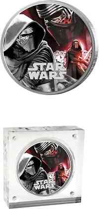Niue : 2 Dollar Star Wars - Kylo Ren  2016 PP