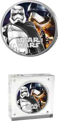 Niue : 2 Dollar Star Wars - Captain Phasma  2016 PP