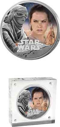 Niue : 2 Dollar Star Wars - Rey  2016 PP