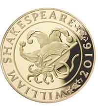 """Großbritannien : 2 Pfund Shakespeare """"Geschichte"""" - Piedfort  2016 PP"""