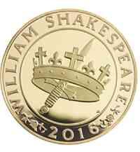 """Großbritannien : 2 Pfund Shakespeare """"Tragödie""""  2016 PP"""