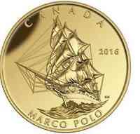 Kanada : 200 Dollar Große Schiffe - Marco Polo  2016 PP