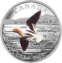 Kanada : 20 Dollar Zugvögel - Säbelschnäbler  2016 PP