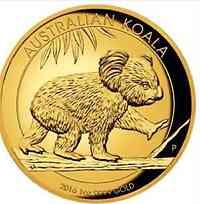Australien : 100 Dollar Koala - Highrelief - 1 oz  2016 PP