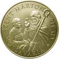 Ungarn : 50000 Forint 1700. Geburtstag von St. Martin  2016 PP