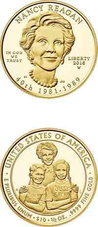 USA : 10 Dollar Pr�sidentengattinnen - Nancy Reagan  2016 PP