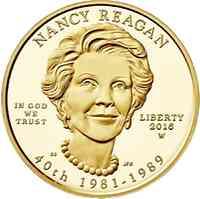 USA : 10 Dollar Pr�sidentengattinnen - Nancy Reagan  2016 Stgl.