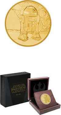 Niue : 25 Dollar Star Wars Classics - R2-D2  2016 PP
