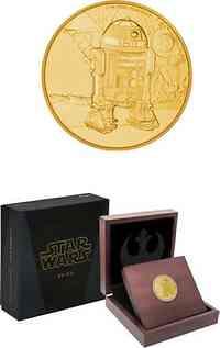 Niue : 250 Dollar Star Wars Classics - R2-D2  2016 PP
