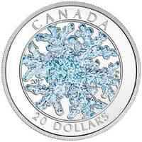 Kanada : 20 Dollar Schneeflocke  2017 PP