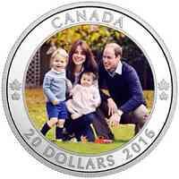 Kanada : 20 Dollar Königliche Reise  2016 PP