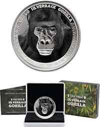 Kongo : 5000 Francs Gorilla  2016 PP