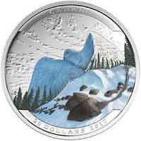 Kanada : 20 Dollar Landschaftsillusion - Schneeeule  2017 PP