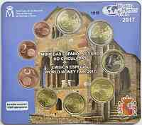 Spanien KMS World Money Fair Berlin 2017 Stgl.