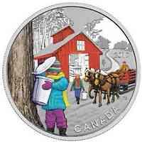 Kanada : 10 Dollar Zuckerhütte  2017 Stgl.