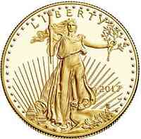 USA : 25 Dollar American Eagle  2017 PP