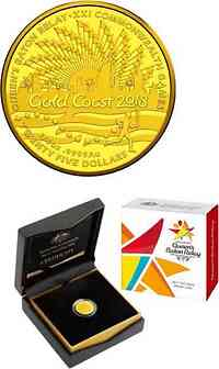Australien : 25 Dollar Commonwealth Games in Gold Coast  2017 PP