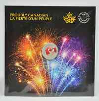 Kanada : 5 Dollar Kanadier voller Stolz - leuchtet im Dunkeln  2017 Stgl.