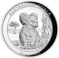 Australien : 8 Dollar Koala - Highrelief  2017 PP