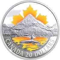 Kanada : 20 Dollar Pazifikküste - Canadas Küsten  2017 PP
