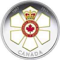 Kanada : 20 Dollar 50 Jahre Order of Canada  2017 PP
