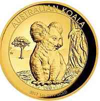 Australien : 100 Dollar Koala Highrelief  2017 PP