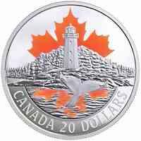 Kanada : 20 Dollar Atlantikküste - Canadas Küsten  2017 PP