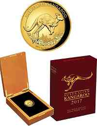 Australien : 100 Dollar Känguru Highrelief  2017 PP