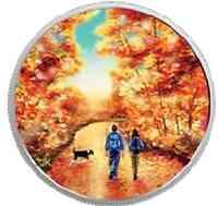 Kanada : 15 Dollar Canadian Outdoors - Spaziergang bei Sonnenaufgang  2017 PP