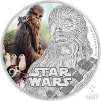 Niue : 2 Dollar Star Wars - Chewbacca  2017 PP