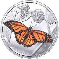 Kanada : 50 Dollar Monarchfalter  2017 PP